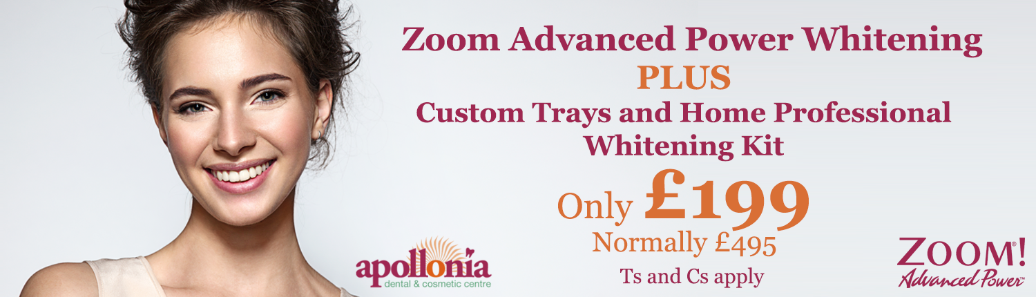 Apollonia Zoom Teeth Whitening Banner Image